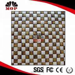 Seamless 3D Pearl Shell Tile Mosaic