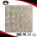 White Capiz Shell Mosaic Silver Mosaic