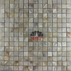 Shell Mosaic Board Blackplash Tile Building Interior Decorative Tiles