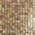 Dyed Brown Mother of Pearl Mosaic