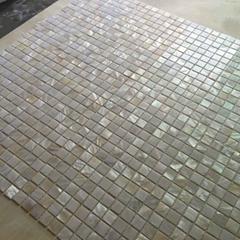 White Shell Mosaic Tile