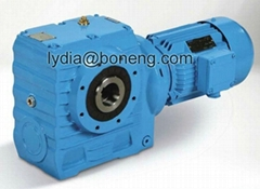 S series helical worm gearboxes