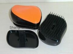Hot Teezer hair brush Combs professional Magic Compact Styler hair TT Comb Detan
