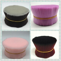 imitated goat hair synthetic fiber