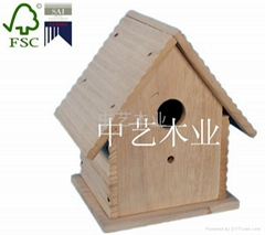high quality wooden bird cage