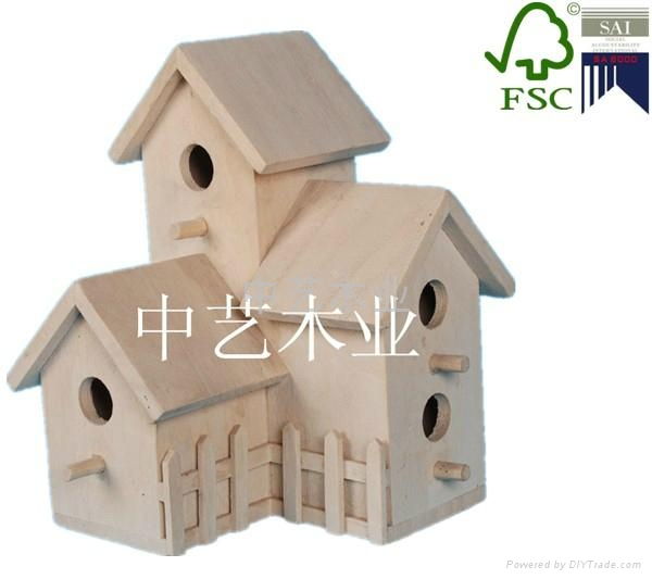 high quality wooden bird cage 4