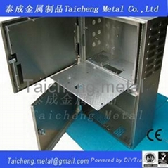 Stainless steel electric control cabinet for power supply