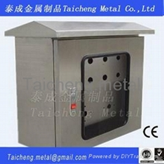 Window type Stainless steel switch box