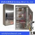 Non standard custom made OEM  stainless steel outdoor Control panel cabinet