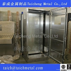 Sheet metal out door electrical stainless steel 304 power cabinets custom