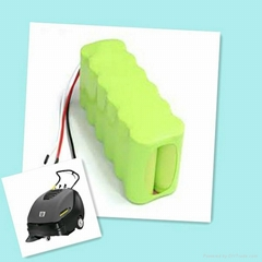 nimh rechargeable battery 3.6v 40mah