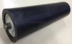 UHMWPE roller for chemical industry fertilizer soda