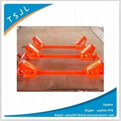 mining belt conveyor heavy duty return idler return pulley