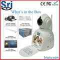 wifi security camera Free Vedio phone call camera view by cell phone&computer  1