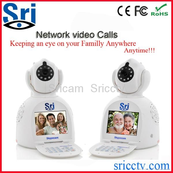 wifi security camera Free Vedio phone call camera view by cell phone&computer  2