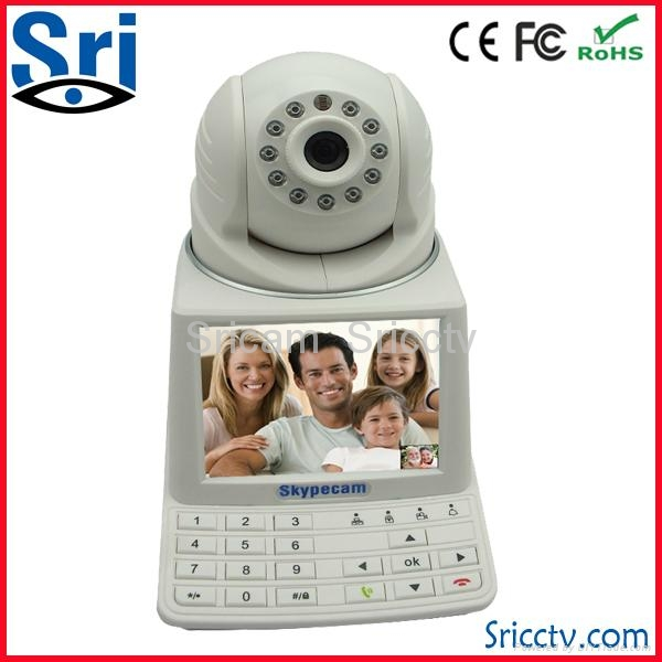 Home Security System network video phone Camera for office meeting 5