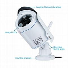 Sricam HD Wireless P2P Camera 720P HD Night Vision IP Camera128GB MicroSD Card