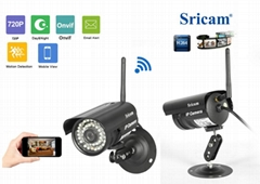 Wifi Camera System home P2P Waterproof outdoor Surveillance camera NVR Kits wifi