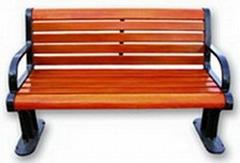 哈爾濱公園椅子