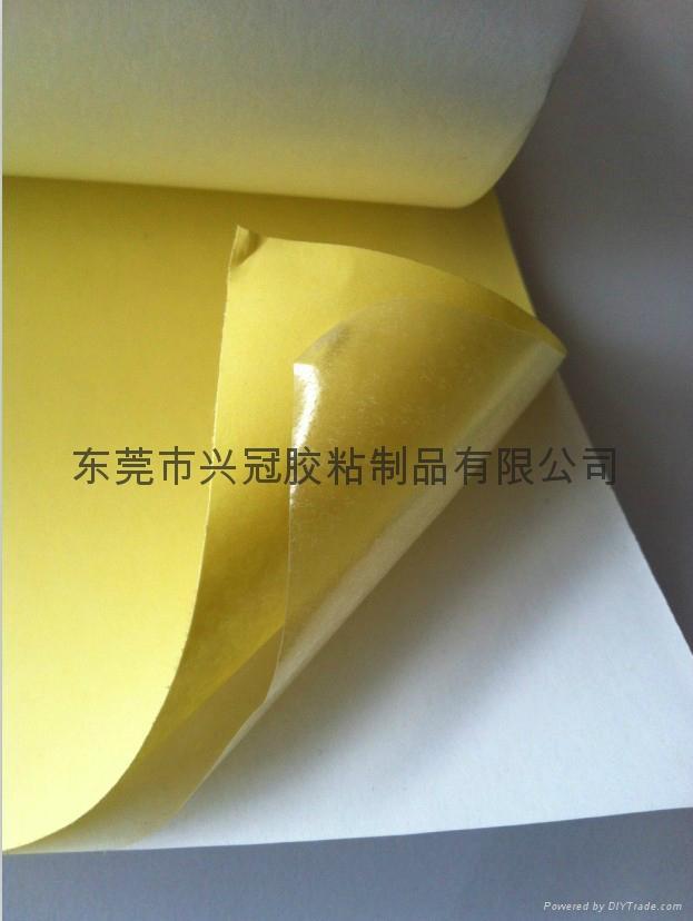 夾心棉紙雙面膠 5