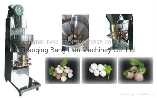 fishmeat ball machine
