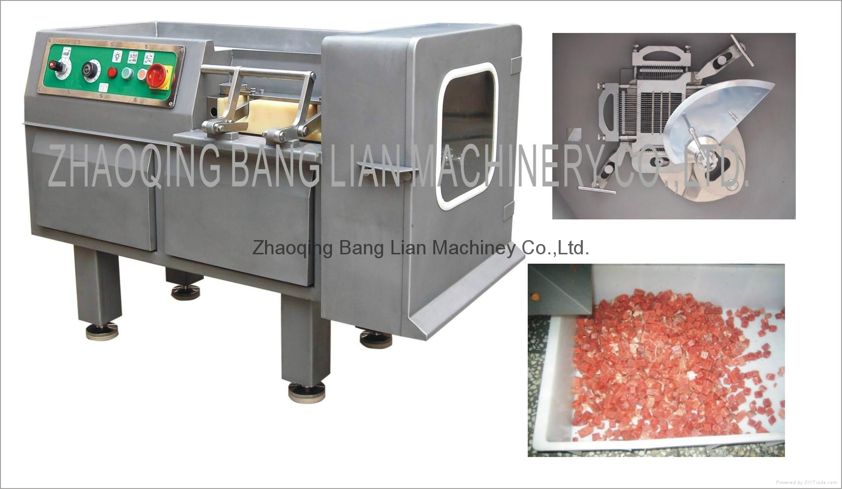 meat dicer, meat cuber