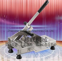 Manual Meat & Bone Cutter with Feeding Function