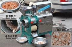 蝦肉採取機