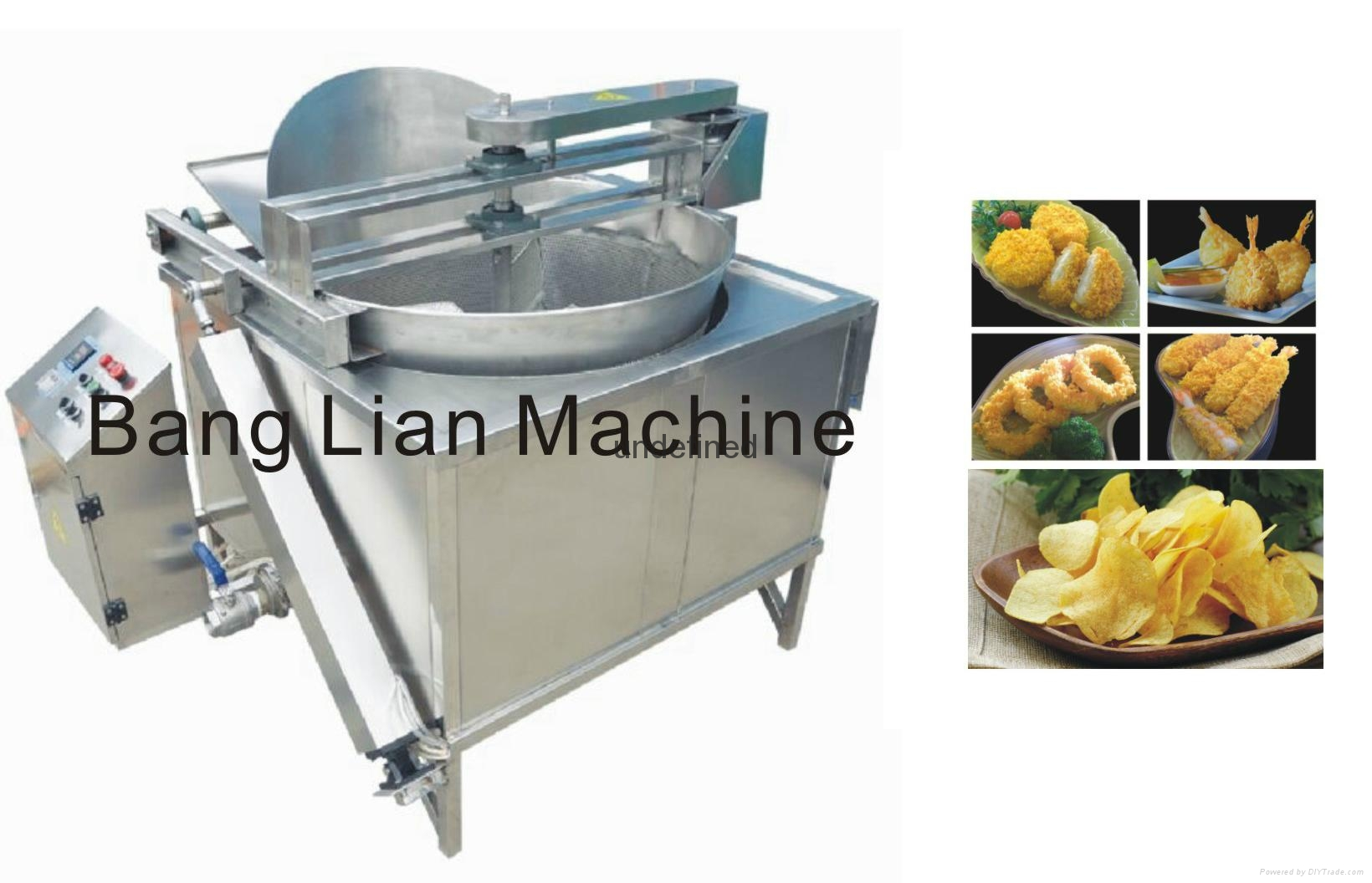 Semi-auto Fryer 1