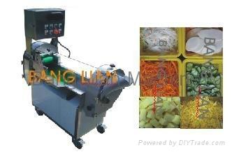 root & leaf vegetable cutting machine