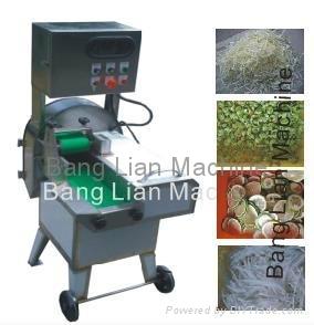 leaf vegetable cutting machine