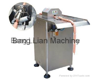 semi-auto sausage binder & tyer
