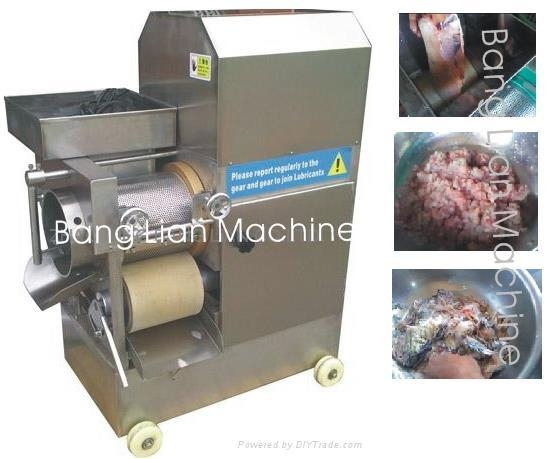 fish deboner, fish meat separator, fish machine, meat ball machine, fish cutter