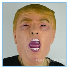 American vote 2016 Donald Trump mask / celebrity face mask / popular TV present