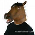 latex horse mask 1