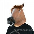 latex horse mask 2