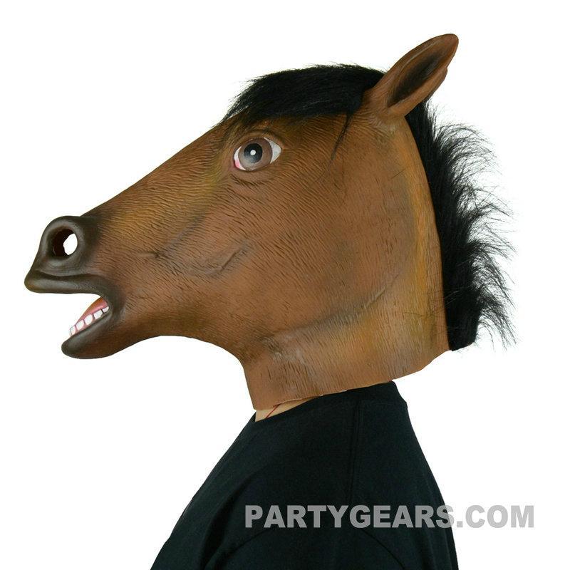 latex horse mask 3