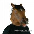 latex horse mask 4