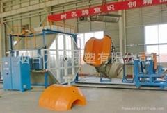 kayak rotational moulding machine