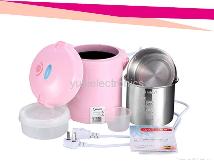 High Quality Electronic Mini Rice Cooker ( 1.1 L, 300w ) 4