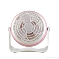 4 inches Battery Rechargeable Desk Stand USB Fan 2