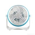 4 inches Battery Rechargeable Desk Stand USB Fan 3