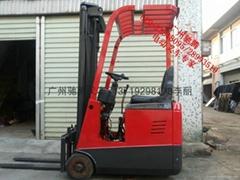 廣州二手三支點倉儲電動叉車
