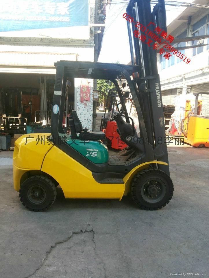 广州二手2.5吨柴油叉车 1