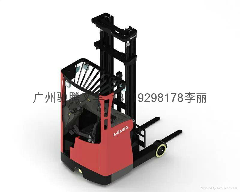 广州座驾前移式高位电动叉车 1