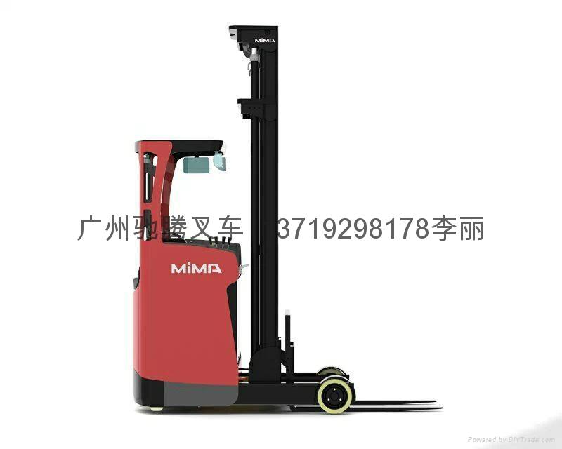 广州座驾前移式高位电动叉车 2