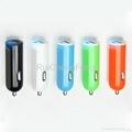 car cigarette lighter socket adapter 2.1A USB Tablet car Charger 1