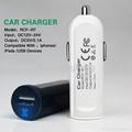 car cigarette lighter socket adapter 2.1A USB Tablet car Charger 2