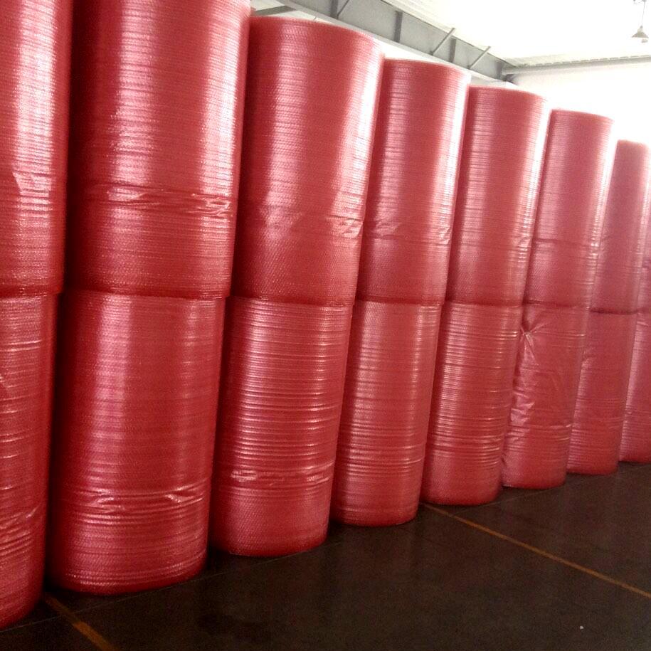 供應紅色氣泡袋 2