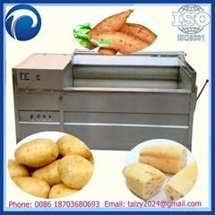 potato washing and peeling machine with low price